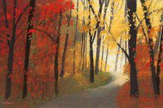 Autumn Road Art Print at AllPosters.com