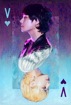 Taehyung house of cards – BTS love Bts Taehyung, Bts Jimin, Taehyung Fanart, Bts Bangtan Boy, Taehyung Gucci, K Pop, Foto Bts, Taemin, Bts Memes