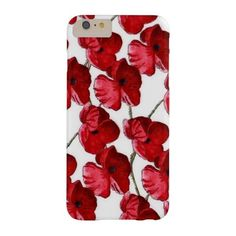 Painted Poppy iPhone 6/6s Case ($47) ❤ liked on Polyvore featuring accessories and tech accessories