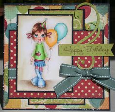 Happy Birthday by Scrapgirl1210 - Cards and Paper Crafts at Splitcoaststampers