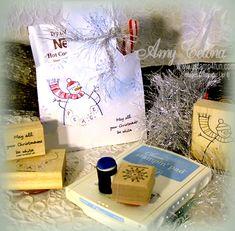 Snowman Envelope Pocket