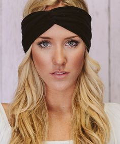 Black Dove Turban Headband | zulily