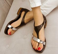 strange and lovely sandals! in love