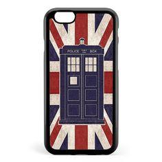 British Fandom Tardis Union Jack Apple iPhone 6 / iPhone 6s Case Cover ISVB428