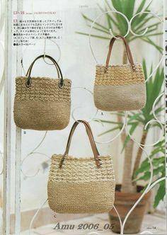 Handle Bag - crochet chart
