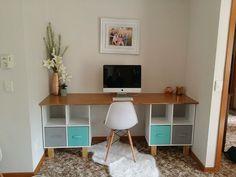 Furniture diy desk ikea hacks 30 ideas for 2019 - Kmart Desk, Kmart Home, Ikea Desk, Diy Desk, Ikea Hacks, Desk Inspiration, Home Organisation, Organization, Home Hacks