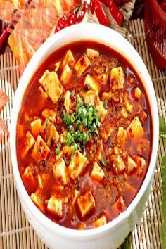 Easy enoki mushroom soup halal chinese food recipe nutrition halal chinese food ma po tofu one of the most famous dishes in chuan cuisine with a history of more than 100 yearsenjoy halal foodhalal meat in forumfinder Gallery