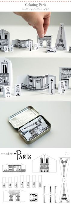Madeline: DIY - Printable Paris - Free PDF Printable This is adorable!