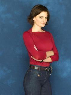 Stana Katic as early Beckett