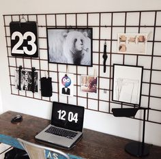 Rigtig smart opslagstavle, som passer perfekt ind i det moderne og innovative kontor!