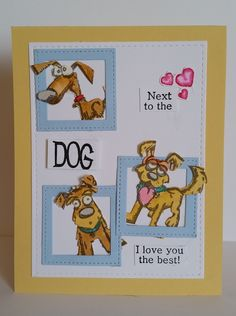 I just love these crazy dogs, they are so darn cute. I made this card for the Muse Card Club challenge this week. I'm going to give ...