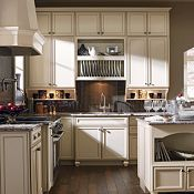 I Want This Style Of Cream Cabinets. Spencer PureStyle™ Amaretto Crème  Kitchen Cabinets By