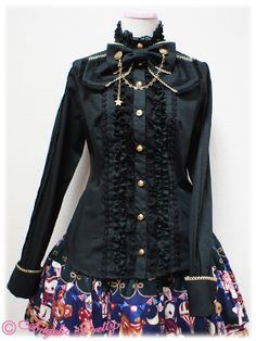 Toy March Blouse by Angelic Pretty Japan Shop, Angelic Pretty, Gothic Lolita, Black Blouse, Stock Photos, My Style, Cute, March, Toy
