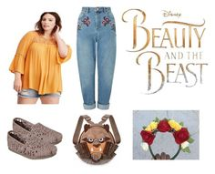 """Beauty & The Beast"" by smilesmakesunshine on Polyvore featuring Miss Selfridge and Disney"