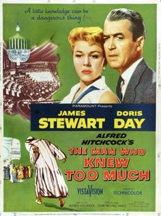 The Man who Knew too Much movie poster #movietwit #MovieBuff #MovieReview #movietalk #movieposters