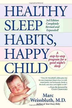 Wish I had read this before Fisch was born- has been SO helpful regardless though!! Healthy Sleep Habits, Happy Child by Marc Weissbluth M.D.