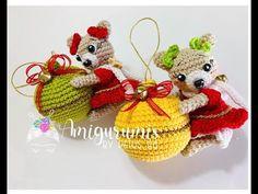Adorno Oso Navidad amigurumis by Petus - YouTube Christmas Crochet Patterns, Christmas Tree, Christmas Ornaments, Amigurumi Doll, Dolls, Holiday Decor, Youtube, Doll, Tricot