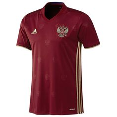 Russia 2016 17 Home Football Shirt - Available at uksoccershop.com Soccer  Kits 1383b3291
