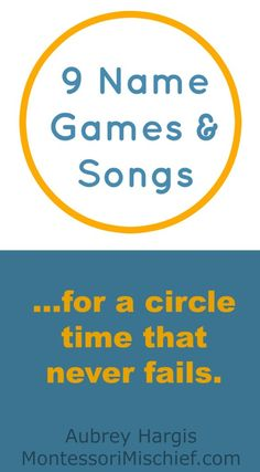 name games and songs for circle time pinnable