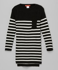 Black Stripe Tunic