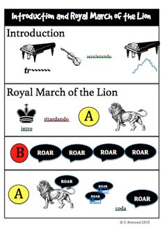 Movement Activities to go with Carnival of the Animals by Camille Saint-Saens. Also includes link to listening maps for each movement of the song. Movement Activities, Animal Activities, Music Activities, Introduction Activities, Kindergarten Music, Teaching Music, Teaching Resources, Teaching Ideas, Carnival Of The Animals