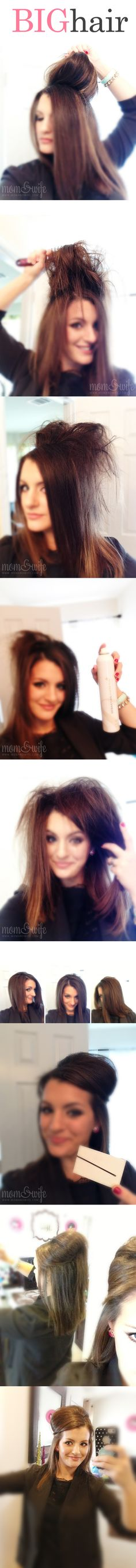 "How to 'Poof"" Your Hair - MomAndWife.com"