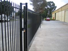 Fenceworks offers a wide range of Security Fencing Melbourne,Steel Security Fencing,Factory Fencing Melbourne,Industrial Security Fencing,Aluminium Security Fencing. Security Fencing, Fence, Melbourne, Perspective, Sidewalk, Steel, Landscape, Change, Check