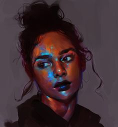 Kai Fine Art is an art website, shows painting and illustration works all over the world. Digital Portrait, Portrait Art, Digital Art, Art Sketches, Art Drawings, Tattoo Drawings, Guache, Ap Art, Aesthetic Art