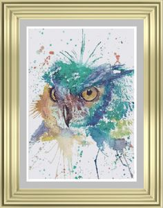 Hey, I found this really awesome Etsy listing at https://www.etsy.com/uk/listing/251565822/the-owl-cross-stitch