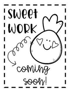 School Stuff, Back To School, Work Bulletin Boards, 1st Grade Worksheets, Coming Soon, Student Work, Grade 1, New Work, Pineapple