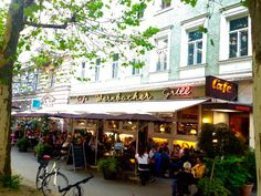 Café Wernbacher - original 1940/50 Café inside  Franz-Josefstraße, Salzburg