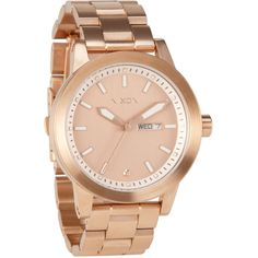 Nixon 'the Spur' Bracelet Watch ($300) ❤ liked on Polyvore