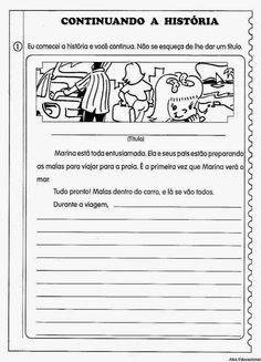 80 Atividades de Produção textual ou redação para o 4º Ano - Criação de texto e trabalho da escrita ~ ESPAÇO EDUCAR
