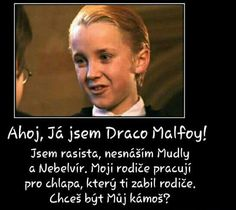 obrázky a vtipy z Harryho Pottera #náhodně # Náhodně # amreading # books # wattpad Harry Potter Texts, Hogwarts Letter, Dont Forget To Smile, Weird Words, Harry Potter Pictures, The Greatest Showman, Draco Malfoy, Good Books, Funny Memes