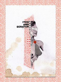Handmade Collages 2007-2010 by Molokid, via Behance