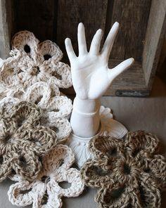 crochet with jute