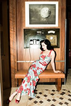 Dita von Teese from the http://www.thecoveteur.com/dita_von_teese