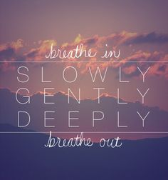 Remember to take a step back and breathe!