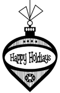 Mounted Rubber Stamp  Retro Happy Holidays by CarolynsStampStore, $2.80  https://www.etsy.com/listing/117344400/mounted-rubber-stamp-retro-happy