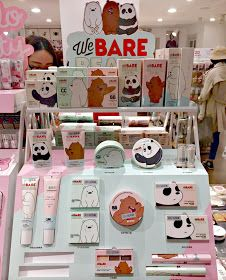K-Beauty News - Missha x We Bare Bears Collection - K-Beauty, Asian and Korean Cosmetics, Kawaii Uni Beauty News, K Beauty, Summer Beauty, Kawaii Makeup, Cute Makeup, Bear Makeup, Bear Wallpaper, Missha, Aesthetic Makeup