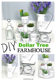 Dollar Tree DIY Farmhouse Decor Ideas Dollar Tree DIY Farmhouse Decor Ideas,Trash to treasure/ Dollar tree crafts Quick and easy Dollar Tree decor ideas for that simple Farmhouse feel. Watch this video and learn. Dollar Store Hacks, Thrift Store Crafts, Dollar Stores, Dollar Dollar, Dollar Tree Decor, Dollar Tree Crafts, Dollar Tree Finds, Country Farmhouse Decor, Vintage Farmhouse
