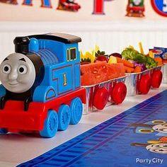 Tema da festa: Thomas e seus amigos! | Guia Tudo Festa - Blog de Festas - dicas e ideias!