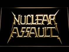 Nuclear Assault LED Neon Sign