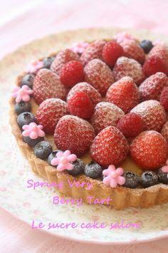春のベリーベリータルト @ Le surce cake salon (Japan) ♥