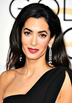 amal clooney - make-up