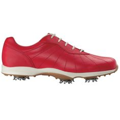 FootJoy 96101 Ladies emBODY Golf Shoes - Red - Puetz Golf