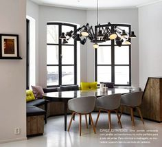 Passado industrial à mostra. Veja: http://casadevalentina.com.br/blog/detalhes/passado-industrial-a-mostra-2833 #details #interior #design #decoracao #detalhes #decor #home #casa #design #idea #ideia #charm #charme #casadevalentina #industrial #style #estilo #diningroom #saladejantar