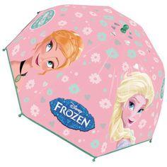 Paraguas burbuja Frozen Disney! http://www.licenciasinfantiles.es/p.8620.0.0.1.1-paraguas-burbuja-frozen-disney.html