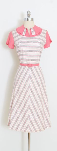 ➳ vintage 1930s dress * darling polka dot dress * cotton with covered button details * metal side zipper * matching belt * by Lynn Davis condition | excellent fits like m/l length 42 bodice 17 bust 38 waist 30 (unbelted) ➳ shop http://www.etsy.com/shop/millstreetvintage?ref=si_shop ➳ shop policies http://www.etsy.com/shop/millstreetvintage/policy twitter | MillStVintage facebook | millstreetvintage instagram | millstreetvintage 5965...