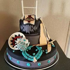 Indian Heritage cake., so pretty!!!